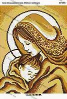 Мадонна с младенцем золото
