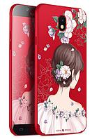 Чехол для Samsung Galaxy S8 Red Girl