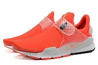 Летние мужские кроссовки Nike Sock Dart SP orange