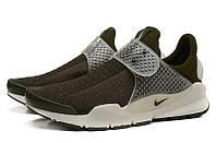 Летние мужские кроссовки Nike Sock Dart SP хаки