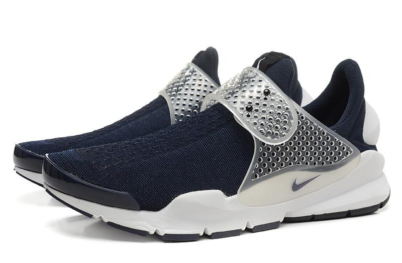 1ff400e179c6 Летние мужские кроссовки Nike Sock Dart SP темно-синие  купить в ...