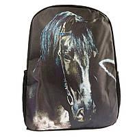 Молодежные рюкзаки с рисунком лошадь, фото 1