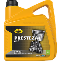 Синтетическое моторное масло Kroon-Oil Presteza MSP 5W-30 (BMW, MB, GM Dexos2) ✔ емкость 5л.