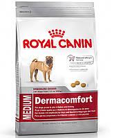 Royal Canin MEDIUM DERMACOMFORT - корм для собак средних пород с чувствительной кожей 10кг.