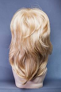 Парик пышный№9,цвет мелирование пшеничный с блондом