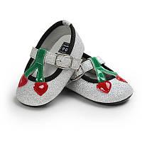 Туфельки-пинетки для  девочки 13 см., фото 1