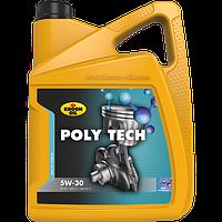 Синтетическое моторное масло Kroon-Oil Poly Tech 5W-30 ✔ емкость 5л.