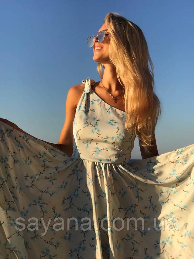 модное платье на одно плечо оптом