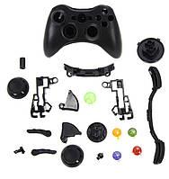 Корпус для беспроводного Джойстика Xbox 360 (Black)