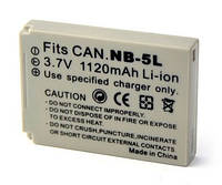 Аккумулятор Canon NB-5L (Digital)