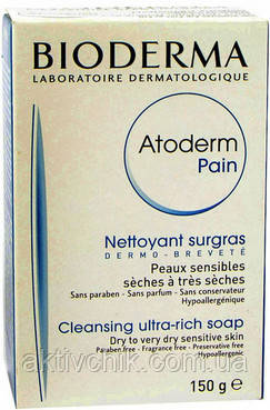 Питательное мыло Bioderma Atoderm Pain Ultra Rich Soap 150 грамм