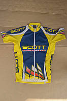 Вінтажна велофутболка SCOTT USA з Німеччини / L