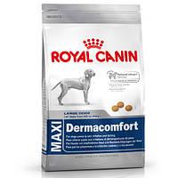 Royal Canin MAXI DERMACOMFORT - корм для собак крупных пород с чувствительной кожей 12кг.