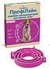 Ошейник ПрофиЛайн от блох и клещей для собак фуксия 70см