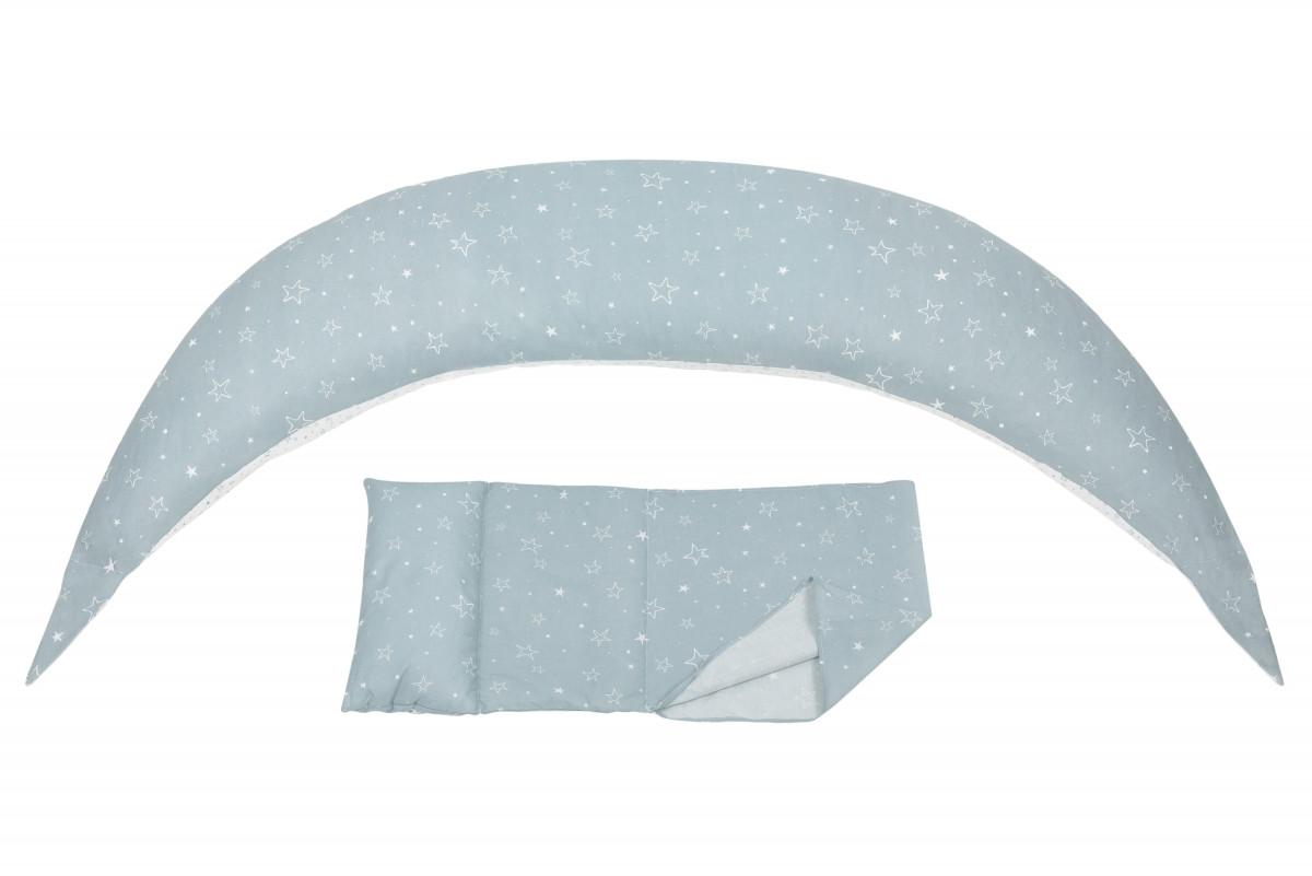 Nuvita - Подушка для беременных 10 в 1 DreamWizard, серая