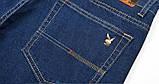 PLAYBOY шорты мужские джинсовые плейбой, фото 9