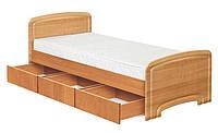 Кровать односпальная К-90 3Я Классика (МДФ), фото 1