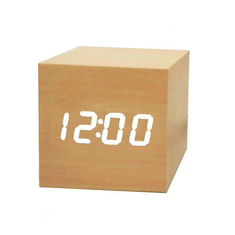 Часы-Будильник VST-869-3-White с температурой и подсветкой