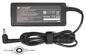 Блок питания для ноутбуков PowerPlant ACER 220V, 19V 65W 3.42A (5.5*2.1)