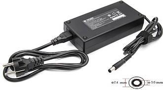 Блок питания для ноутбуков PowerPlant DELL 220V, 19.5V 180W 9.23A (7.4*5.0)