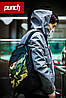 Городской стильный рюкзак PUNCH black-camo