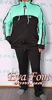 Спортивный костюм батал( ластик)