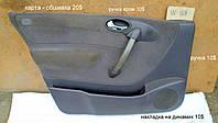 Карта - обшивка двери, передняя левая Mercedes A Class W168 A140 1999 Мерседес А-Класс