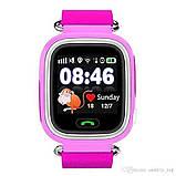 Детские Смарт часы с GPS Q90 Blue (Smart Watch) Умные часы, фото 2