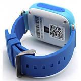 Детские Смарт часы с GPS Q90 Blue (Smart Watch) Умные часы, фото 3