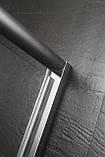 Дверь в нишу распашная 80*185 хром прозрачная, фото 6