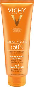Солнцезащитное увлажняющее молочко для лица и тела Vichy Capital Ideal Soleil Hydratant Milk SPF 50+