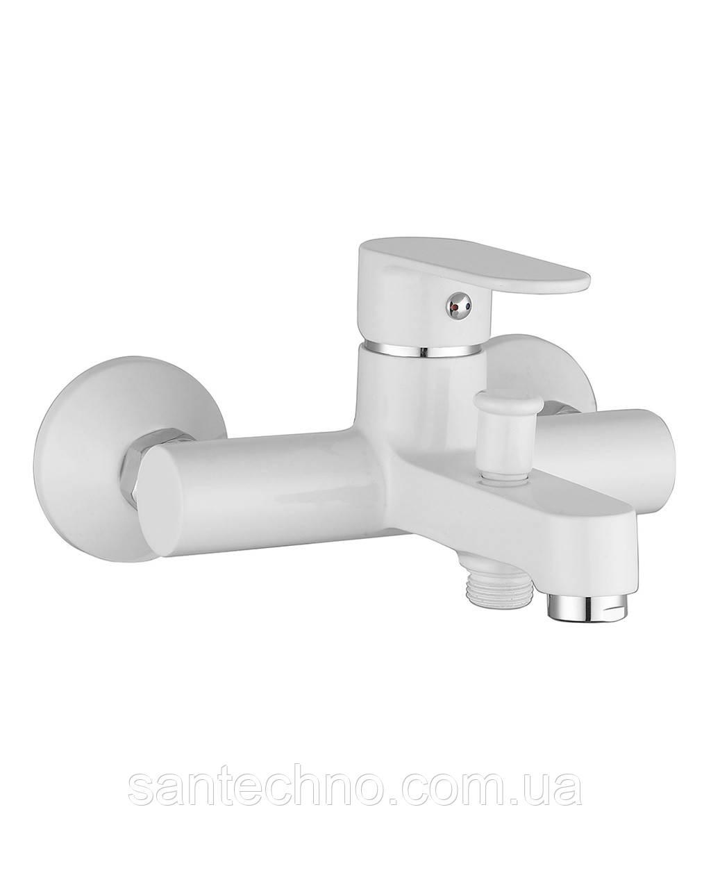 LESNA змішувач для ванни, білий, 35 мм