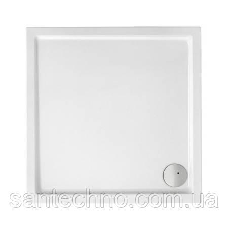 MALAGA Square Compact піддон квадр. 90*90 см з інтегрованою панеллю вис. 13,5 см