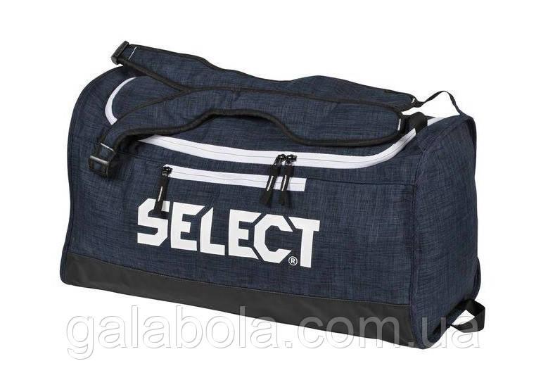 Сумка SELECT LAZIO Sportsbag Small (синяя) - 36 литров