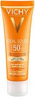 Солнцезащитный крем Vichy Ideal Soleil Anti-Dark Spots SPF50+ с тонирующим эффектом, против пигментных пятен