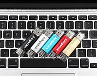 USB Флешка OTG Kingstick 128Гб