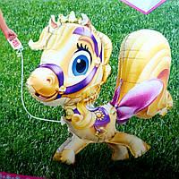 Ходячий шар пони звездочка питомец принцессы рапунцель 75 см сша