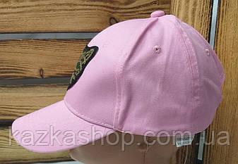 Женская кепка с декоративной нашивкой в виде кота, сезон весна-лето, с регулятором, размер 56-58, фото 2