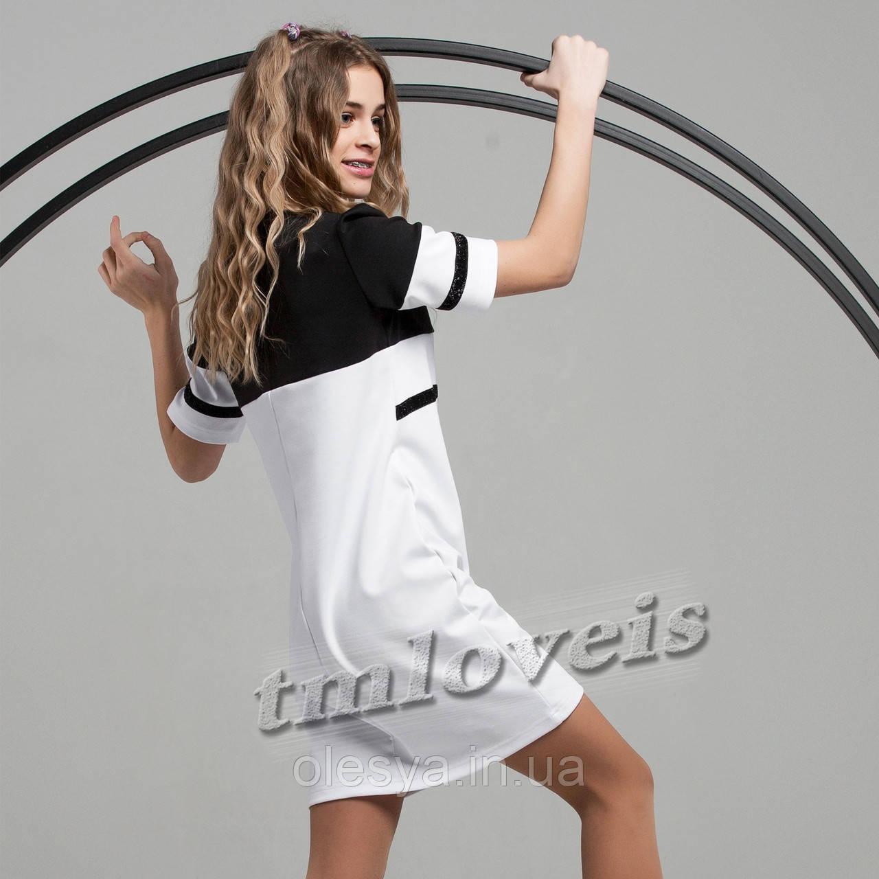 Стильное платье для девочек TM LOVEIS Мадлен Размеры 140- 170