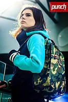 Городской стильный рюкзак мужской/женский PUNCH camo