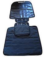 Коврик-защита под детское автокресло - двойной