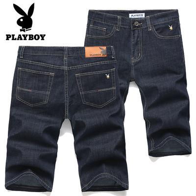 PLAYBOY шорты мужские джинсовые плейбой