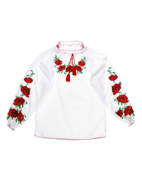 """Рубашка для девочек """"София"""""""