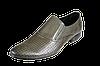 Мужские туфли кожанные классические перфорированные intershoes 14l239 коричневые   летние