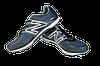 Мужские кроссовки для ходьбы спорт 7 9110-5 темно-синие   летние