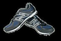 Мужские кроссовки для ходьбы спорт 7 9110-5 темно-синие   летние , фото 1