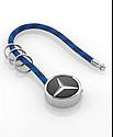 Оригинальный брелок Mercedes-Benz Key Ring, Mumbai, Black/Silver/Blue (B66956755), фото 3