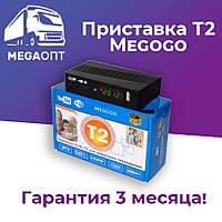 Цифровая приставка DVB-T2 Megogo, Youtube, Wi-Fi, IPTV, USB, Тюнер Т2, Ресивер Т2 Топ за свои деньги