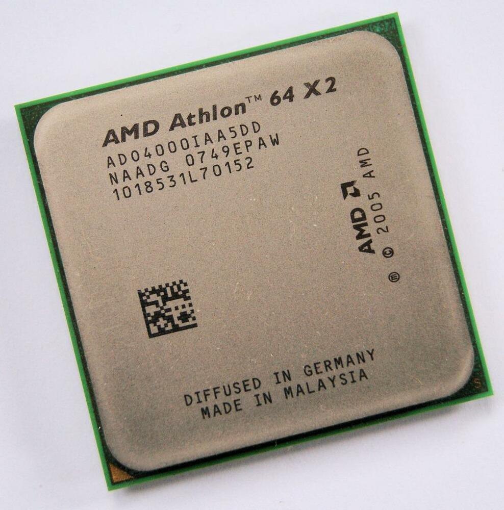 Процессор AMD Athlon 64 X2 4000+ 2.10GHz/1M/2000 (ADO4000IAA5DD) sAM2, tray