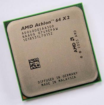 Процессор AMD Athlon 64 X2 4000+ 2.10GHz/1M/2000 (ADO4000IAA5DD) sAM2, tray
